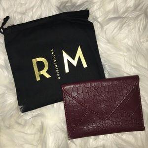 Leather card case box of style Rachel Zoe